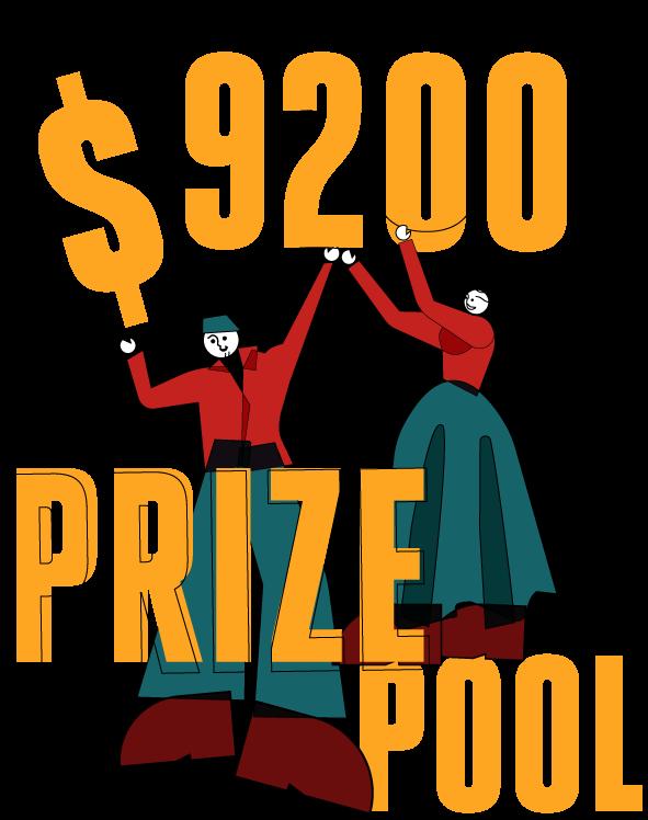 $8800 prize pool!